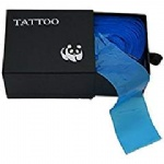 Tattoo Clip Cord covers,New Star Tattoo One Box Of 100PCS Plastic Blue Tattoo Clip Cord Cover Supply Tattoo Machine